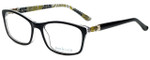 Ana & Luca Designer Eyeglasses Francesca in Black 52mm :: Rx Single Vision