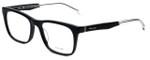 Police Designer Eyeglasses Close Up 6VPL056-0700 in Shiny Black 52mm :: Custom Left & Right Lens