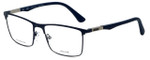 Police Designer Eyeglasses Brooklyn 5VPL394-01HL in Matte Blue 55mm :: Custom Left & Right Lens