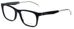 Police Designer Eyeglasses Close Up 6VPL056-0700 in Shiny Black 52mm :: Rx Single Vision
