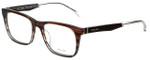 Police Designer Eyeglasses Close Up 6VPL056-0C00 in Brown Stripe 52mm :: Progressive