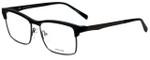 Police Designer Eyeglasses Kick Off 3VPL260-06AA in Rubber Black 54mm :: Progressive