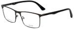 Police Designer Eyeglasses Brooklyn 5VPL394-0627 in Matte Gunmetal 55mm :: Progressive