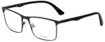 Police Designer Eyeglasses Brooklyn 5VPL394-0627 in Matte Gunmetal 55mm :: Progressive