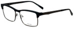 Police Designer Eyeglasses Kick Off 3VPL260-06AA in Rubber Black 54mm :: Rx Bi-Focal
