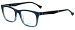 Police Designer Reading Glasses Close Up 6VPL056-0G32 in Blue Crystal 52mm