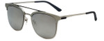 Police Designer Sunglasses Crossover in Silver 54mm