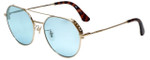 Police Designer Reading Glasses Highway Two in Shiny Rose Gold 55mm