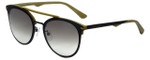 Police Designer Sunglasses Two Souls in Grey Green 53mm