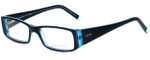Esprit Designer Eyeglasses ET17333-543 in Blue 51mm :: Custom Left & Right Lens