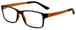Esprit Designer Eyeglasses ET17446-545 in Havana 52mm :: Rx Single Vision