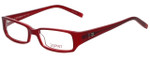Esprit Designer Eyeglasses ET17345-531 in Red 47mm :: Rx Bi-Focal