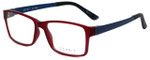 Esprit Designer Reading Glasses ET17446-517 in Burgundy 52mm