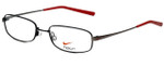 Nike Designer Eyeglasses 4190-009 in Satin Black 52mm :: Custom Left & Right Lens