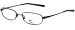 Nike Designer Eyeglasses 4190-200 in Walnut 52mm :: Rx Single Vision