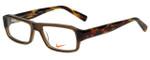 Nike Designer Eyeglasses 5524-200 in Crystal Brown 48mm :: Rx Single Vision