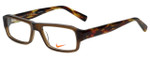 Nike Designer Eyeglasses 5524-200 in Crystal Brown 48mm :: Rx Single Vision