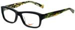 Nike Designer Eyeglasses 5525-015 in Black 48mm :: Rx Single Vision
