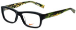 Nike Designer Eyeglasses 5525-015 in Black 48mm :: Rx Single Vision