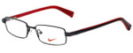 Nike Designer Eyeglasses 5558-054 in Black 47mm :: Rx Single Vision