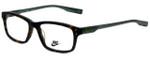 Nike Designer Eyeglasses 7231-200 in Matte Tortoise 53mm :: Rx Single Vision