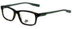 Nike Designer Eyeglasses 7231-200 in Matte Tortoise 53mm :: Rx Single Vision