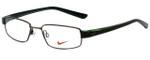 Nike Designer Eyeglasses 8063-237 in Dark Brown 51mm :: Rx Single Vision