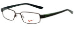 Nike Designer Eyeglasses 8063-237 in Dark Brown 51mm :: Progressive