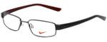 Nike Designer Reading Glasses 8063-051 in Shiny Dark Gunmetal 51mm