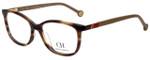 Carolina Herrera Designer Eyeglasses VHE674K-06HN in Tortoise 53mm :: Custom Left & Right Lens