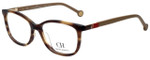 Carolina Herrera Designer Eyeglasses VHE674K-06HN in Tortoise 53mm :: Rx Single Vision