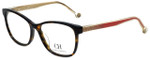 Carolina Herrera Designer Eyeglasses VHE676K-0722 in Havana 54mm :: Rx Single Vision