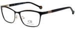 Carolina Herrera Designer Eyeglasses VHE083K-0301 in Black 54mm :: Progressive