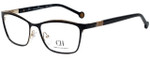 Carolina Herrera Designer Eyeglasses VHE083K-0301 in Black 54mm :: Progressive