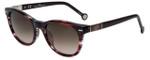 Carolina Herrera Designer Sunglasses SHE600-09CC in Dark Garnet 51mm