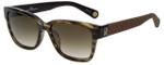 Carolina Herrera Designer Sunglasses SHE645-0921 in Brown Marble 54mm