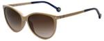 Carolina Herrera Designer Sunglasses SHE651-06K6 in Light Pink 54mm