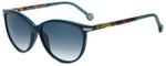 Carolina Herrera Designer Sunglasses SHE651V-08UE in Blue 54mm