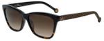 Carolina Herrera Designer Sunglasses SHE701-0722 in Tortoise 55mm