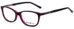 Eddie Bauer Designer Eyeglasses EB32209-PU in Purple 54mm :: Custom Left & Right Lens