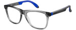 Carrera Designer Eyeglasses CA4400-0HBP in Grey Blue 53mm :: Custom Left & Right Lens