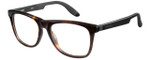Carrera Designer Eyeglasses CA4400-0TRD in Dark Havana Black 53mm :: Custom Left & Right Lens