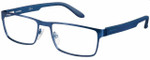 Carrera Designer Eyeglasses CA6656-0TRO in Matte Blue 54mm :: Custom Left & Right Lens