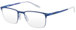Carrera Designer Eyeglasses CA6661-0VBM in Matte Blue 50mm :: Custom Left & Right Lens