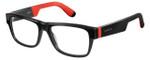 Carrera Designer Eyeglasses CA4402-029A in Shiny Black 54mm :: Rx Single Vision