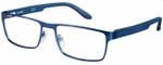 Carrera Designer Eyeglasses CA6656-0TRO in Matte Blue 54mm :: Rx Single Vision