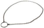La LOOP Designer Eyeglass Necklace 761 Antique Silver Oval Link Chain