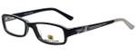 Body Glove Designer Eyeglasses BB128 in Black KIDS SIZE :: Custom Left & Right Lens