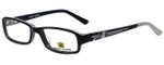 Body Glove Designer Eyeglasses BB128 in Black KIDS SIZE :: Rx Single Vision