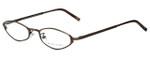 Ralph Lauren Designer Eyeglasses RL1378-2Y0 in Brown 49mm :: Rx Single Vision